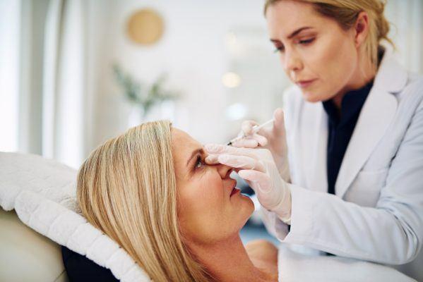 Doctor Injecting Botox
